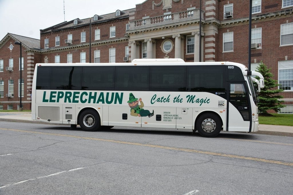 Hudson Valley - Upstate New York -Leprechaun Lines - Charter Bus Rentals - Bus Rental - Charters
